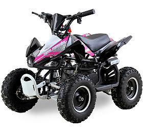 Dětská čtyřkolka 49 ccm Ultimate Monster E-start růžová Nitro motors