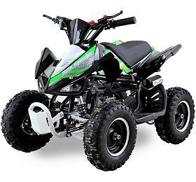 Dětská čtyřkolka 49 ccm Ultimate Monster E-start zelená Nitro motors