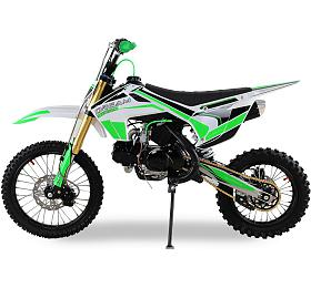 Pitbike 125cc Ultimate Dream 17x14 zelená Ultimate Racing