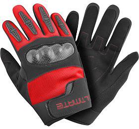 Dětské rukavice Ultimate PRO červená 8-12 let Ultimate Racing