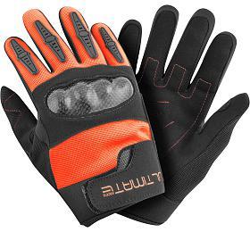 Dětské rukavice Ultimate PRO oranžová 8-12 let Ultimate Racing