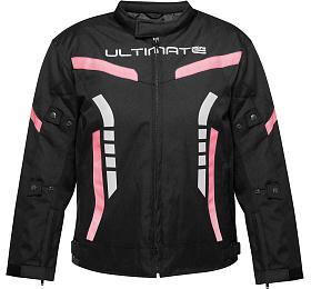 Dětská bunda Ultimate PRO růžová Velikost 12 Ultimate Racing