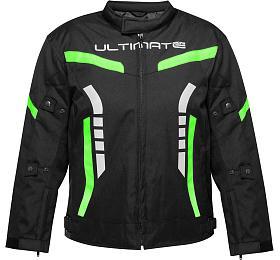 Dětská bunda Ultimate PRO zelená Velikost 8 Ultimate Racing