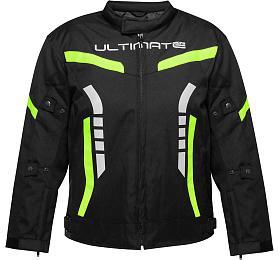 Dětská bunda Ultimate PRO neon-žlutá Velikost 8 Ultimate Racing