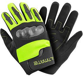 Dětské rukavice Ultimate PRO neon-žlutá 8-12 let Ultimate Racing