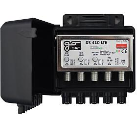 GoSat GS410LTE, nastožár,1xFM G20dB, 1xDAB G20dB, 2xUHF G30dB