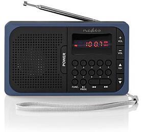 NEDIS RDFM2100BU BLACK / BLUE