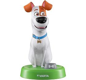 Dekorativní noční světlo VARTA 15641 vetvaru psa MAXE vč.3R3(3xAAA) Varta