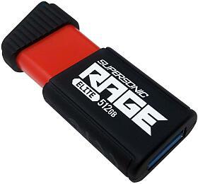 PATRIOT Supersonic Rage Elite 512GB USB Flash disk /USB 3.1 /Rychlost čtení až400MB/s