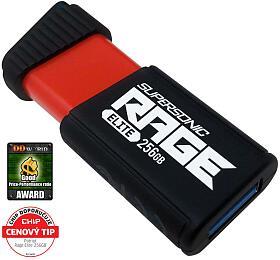 PATRIOT Supersonic Rage Elite 256GB USB Flash disk /USB 3.1 /Rychlost čtení až400MB/s