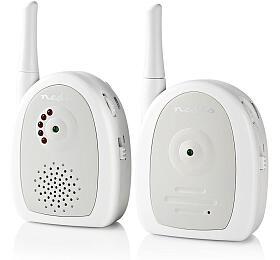 Nedis BAMO111AUWT -Audio Dětská Chůvička |2,4 GHz