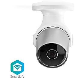 Nedis WIFICO10CWT - WiFi Chytrá IP Kamera | Venkovní | Vodotěsný | HD 720p