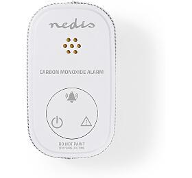 Nedis DTCTCO20WT - Carbon Monoxide | Oxid Uhelnatý - CO Alarm
