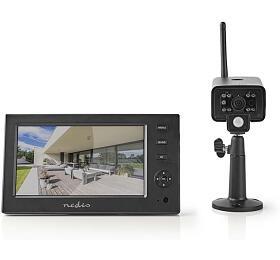 Nedis CSWL140CBK - Digitální Bezdrátová Pozorovací Sada 2.4 GHz - 1x Kamera