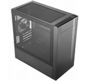 Cooler Master case MasterBox NR400, 2xUSB3.0, Micro-ATX/Mini-ITX, Mini Tower, černá, bez zdroje