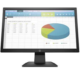 HP ProDisplay P204/19,5''/1600x900/250cd/1000:1/16:9/5ms/VGA,DP, HDMI