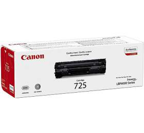 Canon CRG-725, 1600 stran, originální -černý