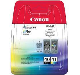 Canon PG40/CL-41 , 16,9ml originální - černá/červená/modrá/žlutá