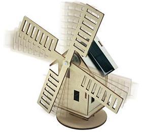Solární stavebnice Větrný mlýn CONRAD