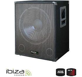 IBIZA 15´´ SUB15A 800W aktivní