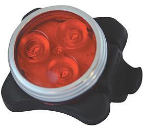 Svítilna nakolo zadní, 3LED, sUSB, červená TIPA