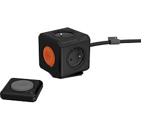 Zásuvka POWERCUBE EXTENDED REMOTE SET s kabelem 1.5m BLACK ALLOCACOC