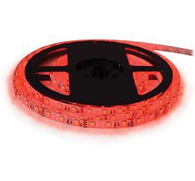 LED pásek 12V 3528 60LED/m IP20 max. 4.8W/m červená, magnetický TIPA