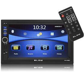 BLOW AVH-9880 MP3, USB, SD, MMC, FM, GPS, BLUETOOTH + dálkové ovládání