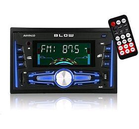 BLOW AVH-9610 MP3, USB, SD, MMC, FM, BLUETOOTH + dálkový ovladač