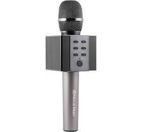 Technaxx ELEGANCE bluetooth karaoke mikrofon, 2x5W repro, černá