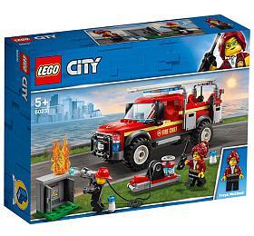 Zásahový vůz velitelky hasičů
