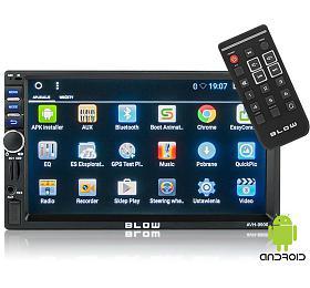 BLOW AVH-9900 MP3, USB, SD, MMC, FM, GPS, WIFI, BLUETOOTH + dálkový ovladač