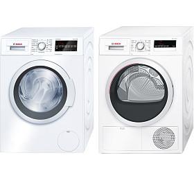 SET Pračka Bosch WAT28460BY + Sušička Bosch WTH85200BY