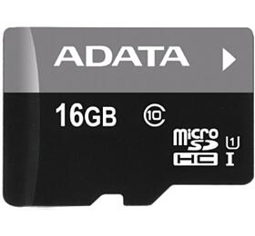 ADATA Micro SDHC 16GB UHS-I U1+adaptér