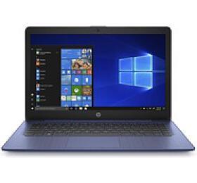 "HP NTB 14-ds0010nc, 14"" FHD IPS, A4-9120e dual, 4GB DDR4, 64GB eMMC, AMD Graphics, Win10 Blue"