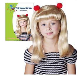 Paruka blondýna roztleskávačka vsáčku karneval