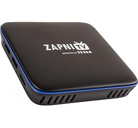 TESLA MediaBox ZAPNI TV/ 4KUltra HDa HDR10/HLG/VP9/ H.265/HEVC/ KODI/ HDMI/ 2xUSB/ LAN/ Wi-Fi/ Android 7.1.2/ černý