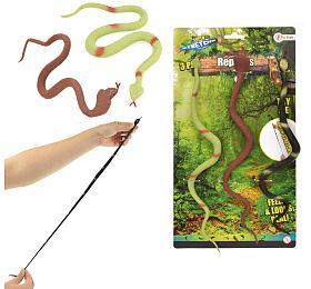 Had antistresový guma 30cm 3ks nakartě