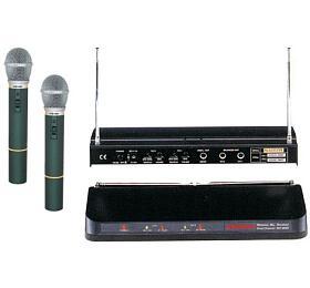 Mikrofon bezdrátový WR202R+2xVXM286TS SHOW