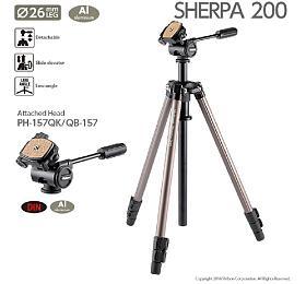 Velbon SHERPA 200 včetně pákové hlavy PH-157Q