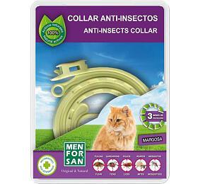 Menforsan Přírodní antiparazitní obojek pro kočky 30cm