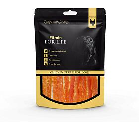 FFL dog treat chicken stripes 70g Fitmin