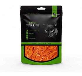 FFL dog &cat treat rabbit jerky 70g Fitmin