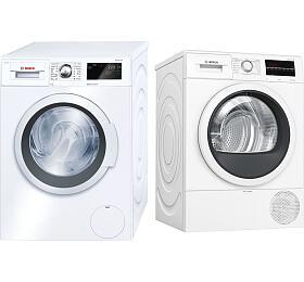 Bosch WAT28660BY +Sušička prádla Bosch WTR85T00BY
