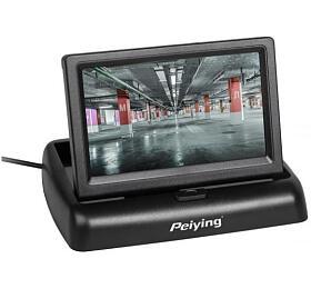 """Monitor výklopný doauta pro kamery sezadním výhledem LCD 4,3"""" PY0107 PEIYING"""