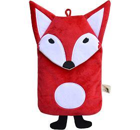 Dětský termofor Hugo Frosch Eco Junior Comfort smotivem červené lišky
