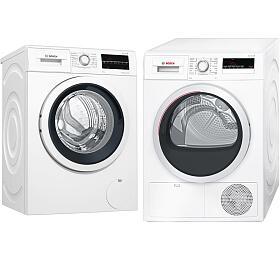 SET Pračka Bosch WAT28460CS + Sušička Bosch WTH85200BY