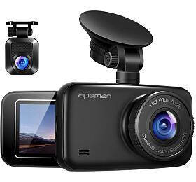 Apeman C860, 1440P a1080P Dual Dash Cam