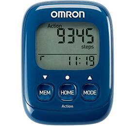 OMRON HJ-325-EB Walking Style IV krokoměr -tmavě modrý