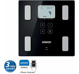 OMRON VIVA monitor skladby lidského těla sosobní váhou sBluetooth pripojením Android/iOS zařízení